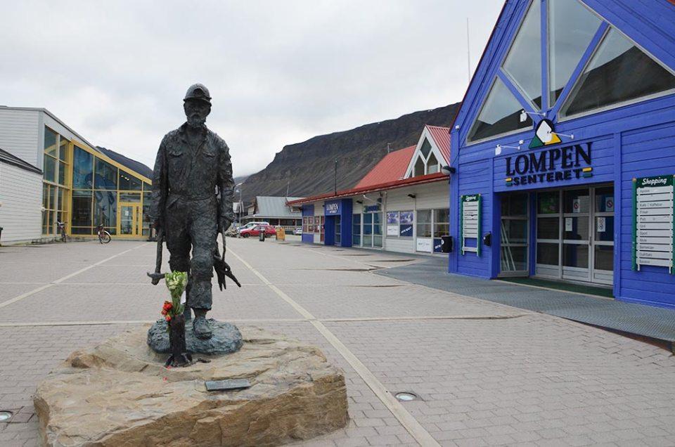Place principale de Longyearbyen, Svalbard