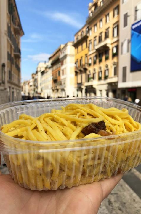 Les pâtes de chez Pastificio, Rome, Italie