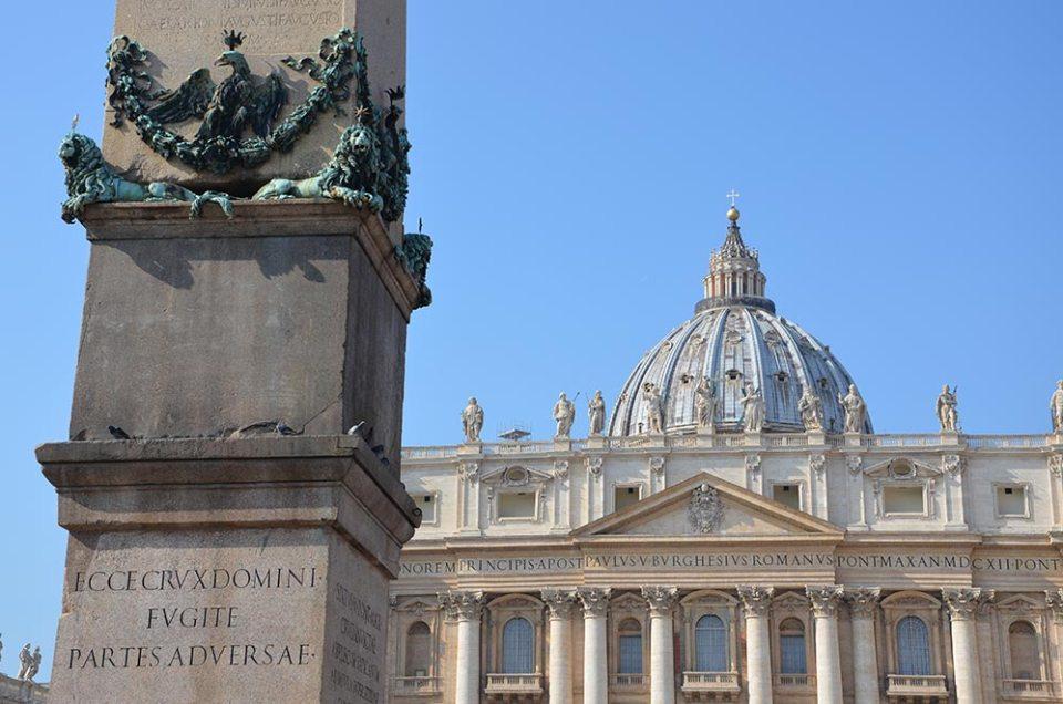 Extérieur de la Basilique Saint Pierre, Vatican, Rome, Italie