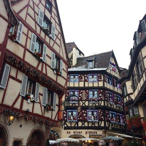 Jolies maisons à Colombages de Colmar, Alsace