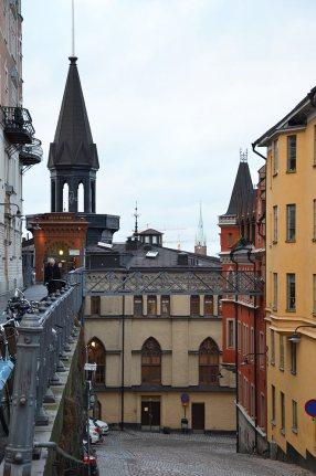 Ruelle de Stockholm, Suède