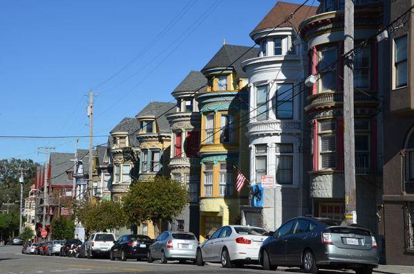 Maisons victoriennes, San Francisco, USA
