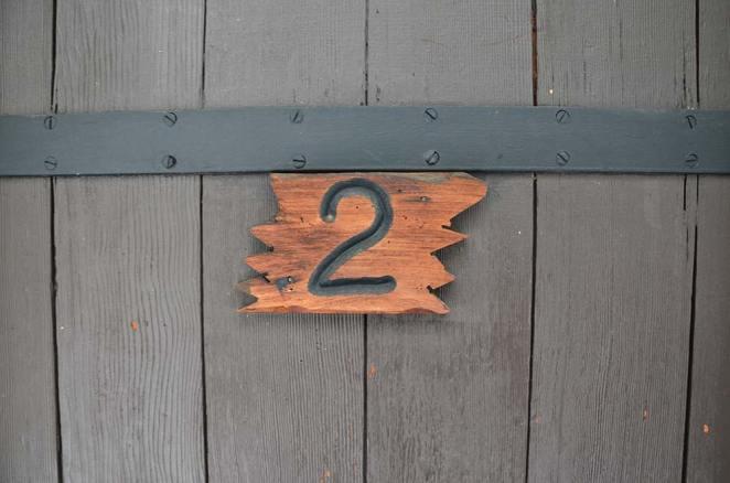 Numéro de la cabine du Grant Grove, Kings Canyon national park