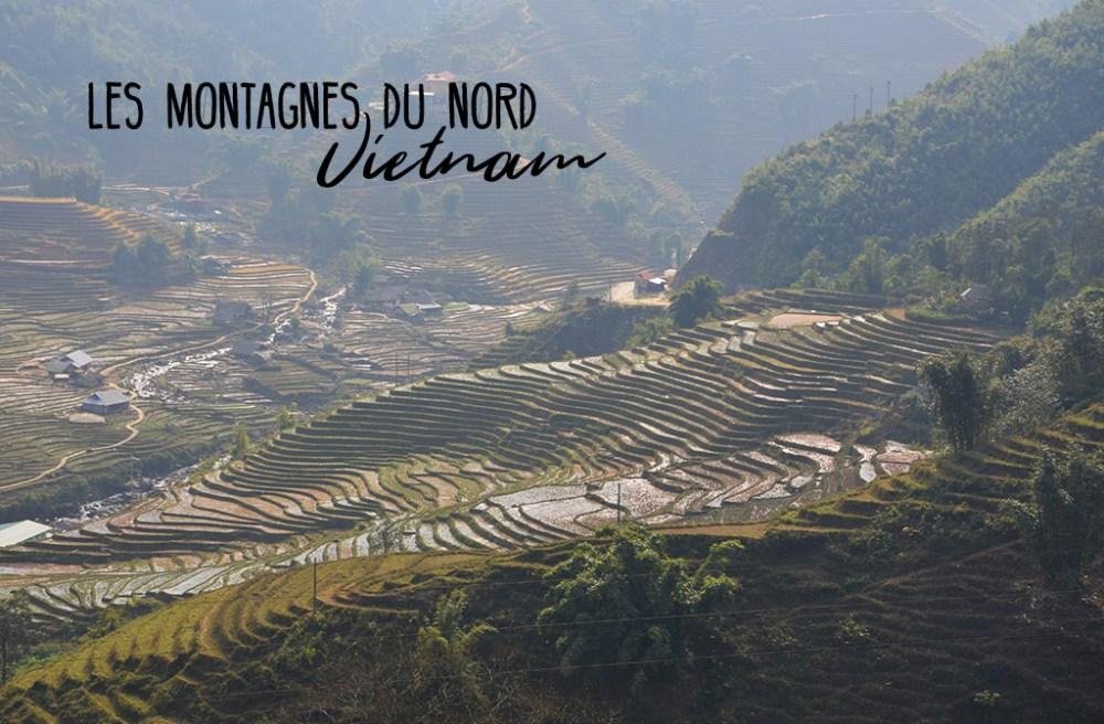 Montagnes de Sapa, Vietnam