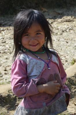Petite fille Hmong, Sapa, Vietnam