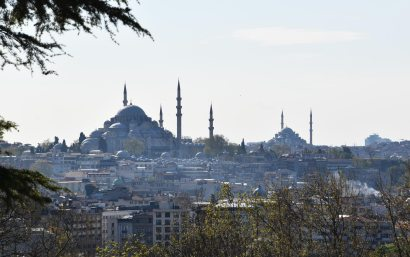 Vue sur Istanbul, COUV, Turquie