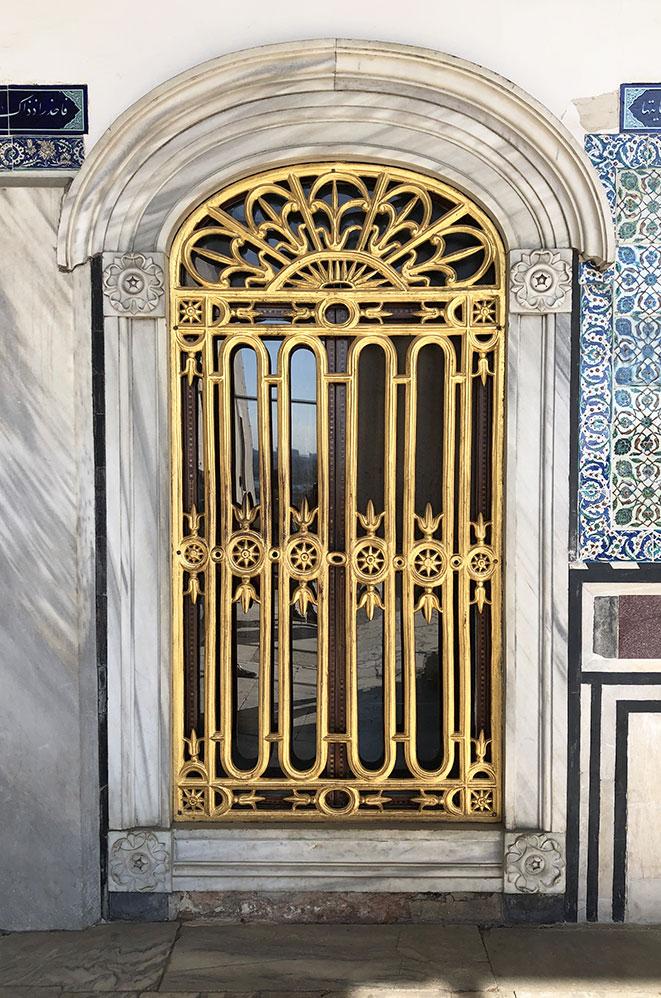 Intérieur du Palais de Topkapi, Istanbul, Turquie