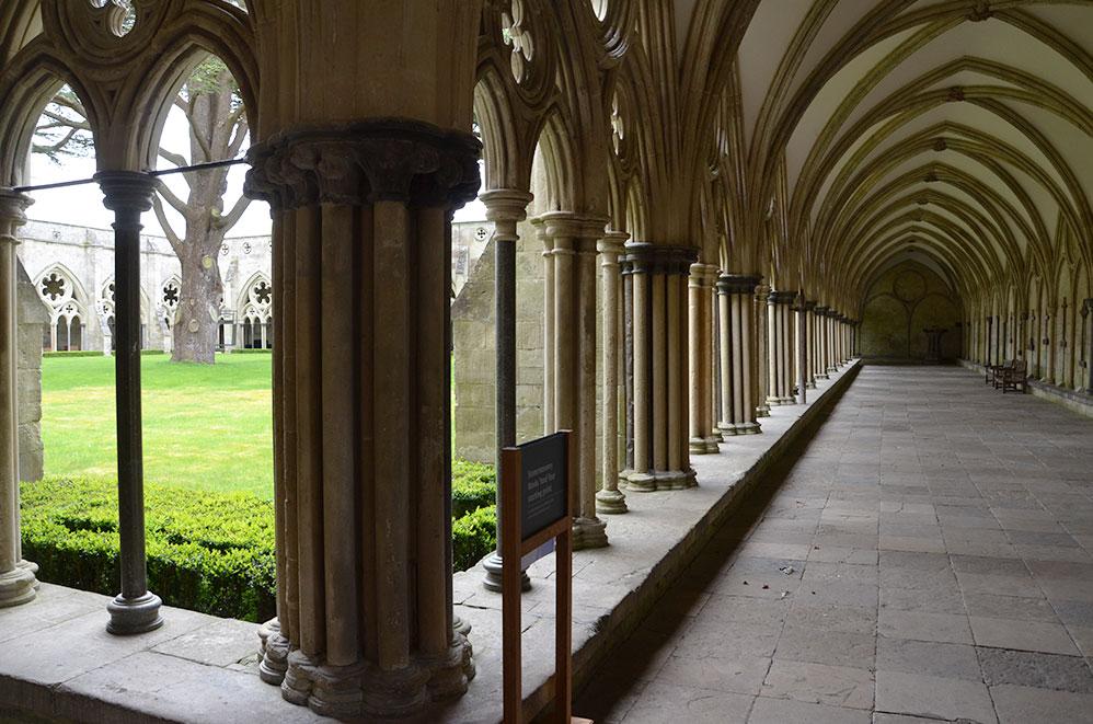 Cathédrale de Salisbury, campagne anglaise, Royaume-Uni