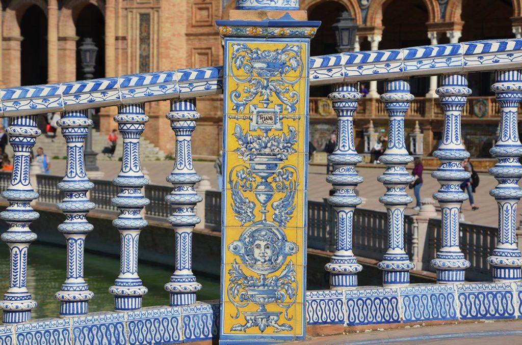 Plaza de España, Séville, Andalousie, Espagne
