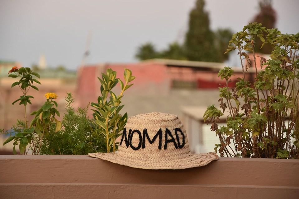 Vue sur les toits de Marrakech depuis le restaurant Nomad