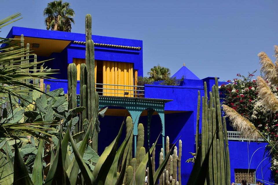 Maison Majorelle, Marrakech, Maroc