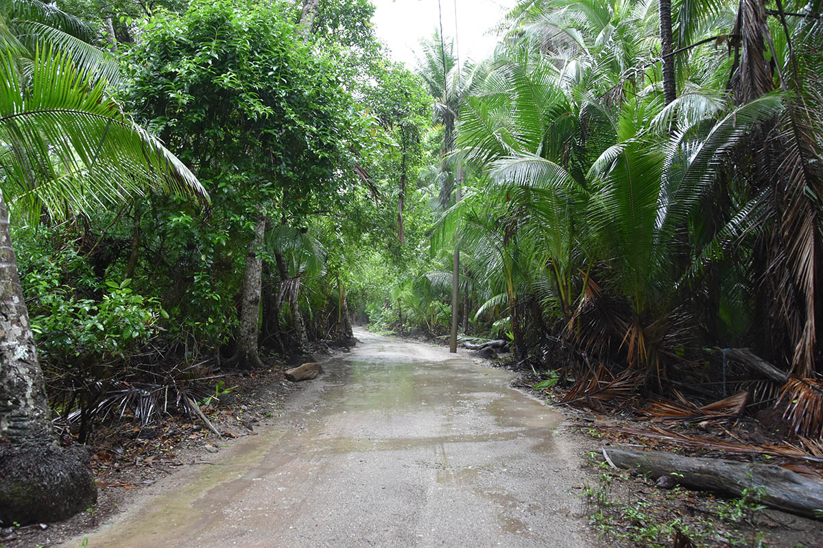Entré du Parc Curu, Péninsule Nicoya, Costa Rica