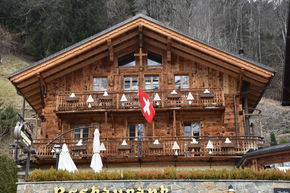 Chalet Suisse, Chamoéry