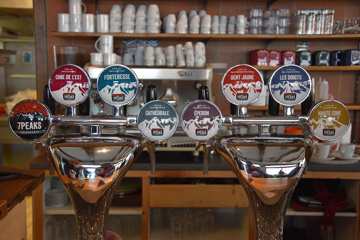 Bière 7 Peaks, Région dents du Midi, Suisse