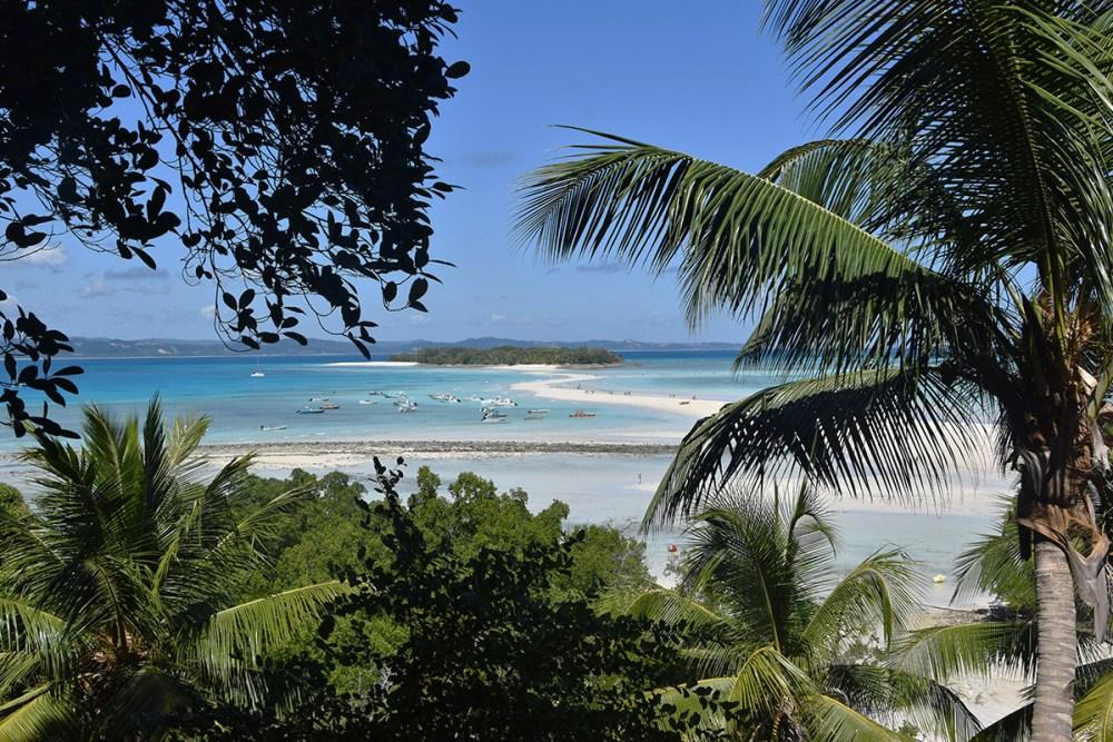 Plage de sable blanc, Nosy Iranja, Madagascar