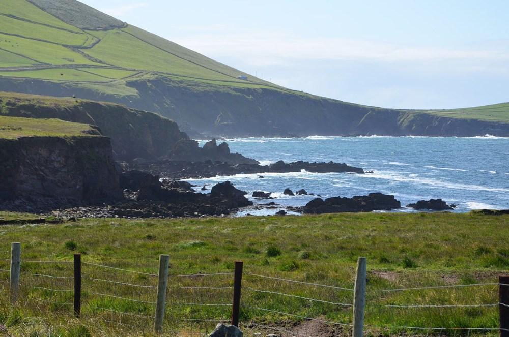 Vue sur la mer depuis la magnifique Slea Head, Irlande