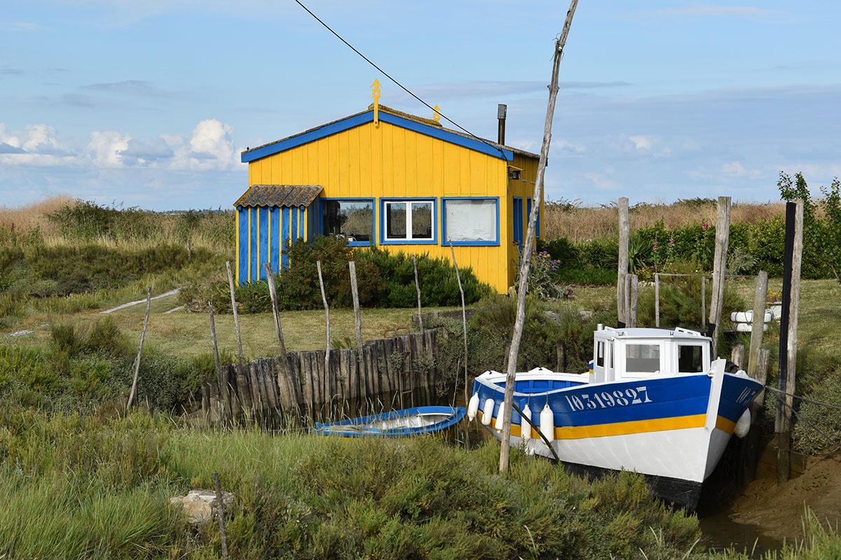 Cabanes de la route des huîtres, Ile d'Oléron