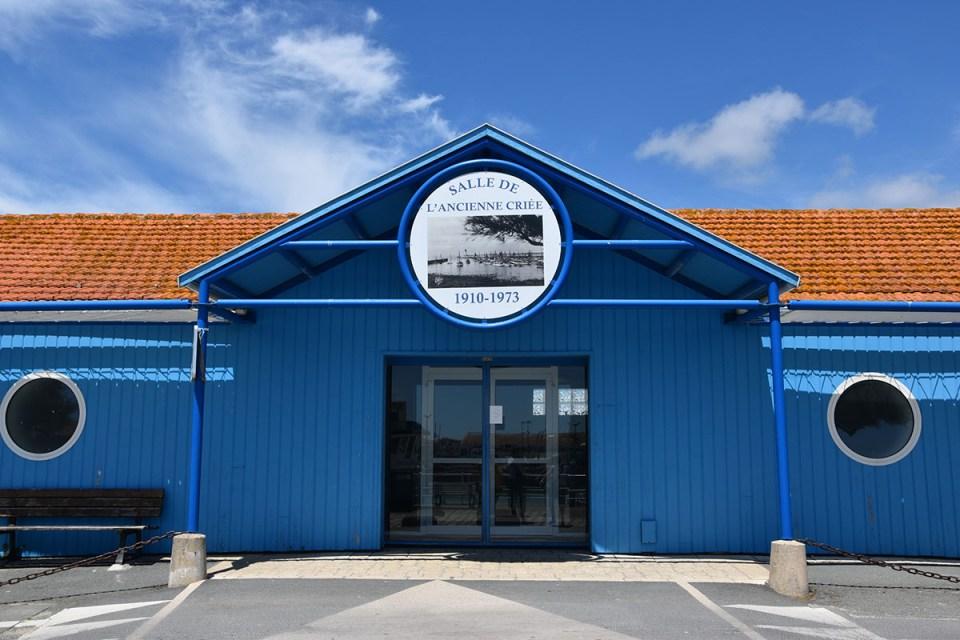 Salle de l'ancienne criée, La Cotinière, Ile d'Oléron