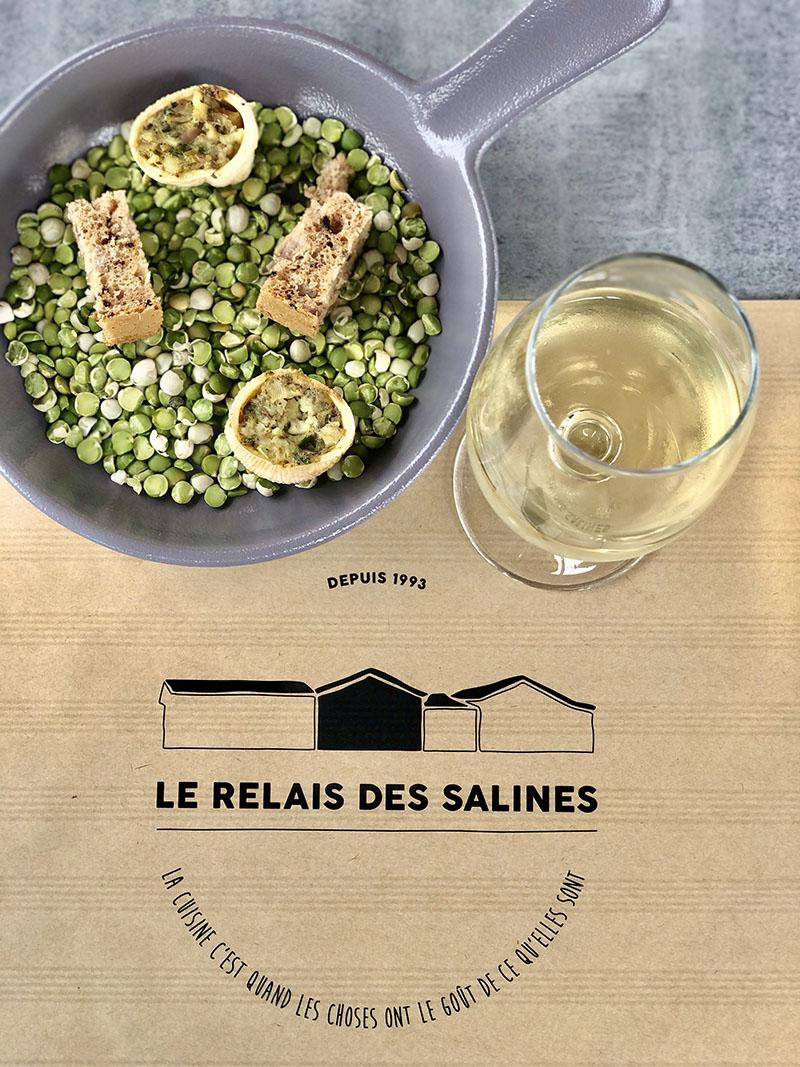 Table du Relais des Salines, Ile d'Oléron