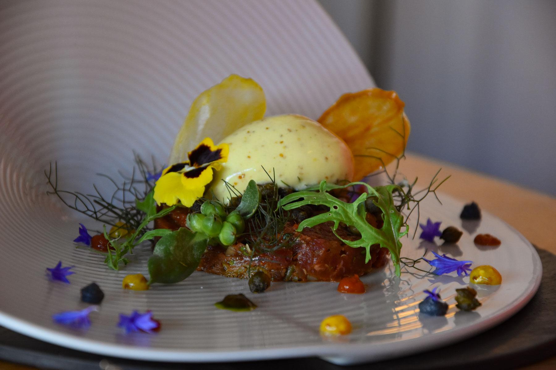 Restaurant La Grée des Landes, Yves Rocher, La Gacilly, Morbihan, Bretagne