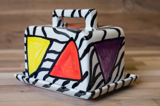 Carnival Safari butter dish