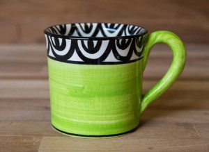 Aztec lime green Reckless Designs