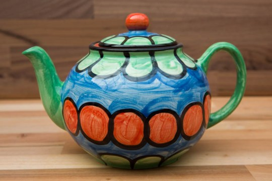 Fruity mini teapot in Green