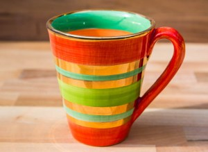Lustre Horizontal large tapered mug in No.02