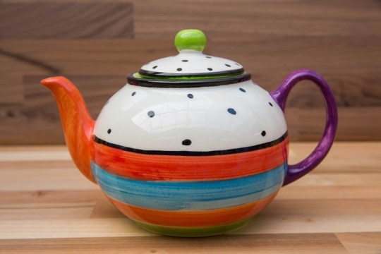 Hi-life gaudy medium teapot in Polka Dot