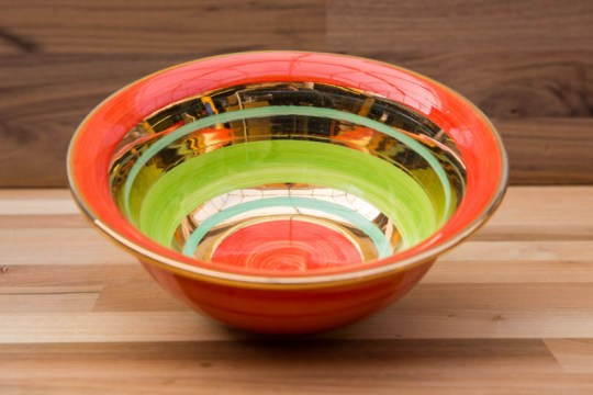 Lustre Horizontal cereal bowl in No.02