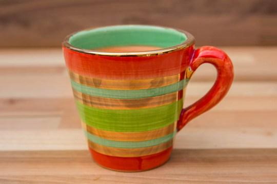 Lustre Horizontal small tapered mug in No.02