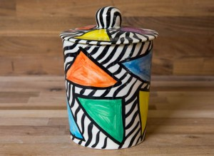 Carnival Safari storage jar