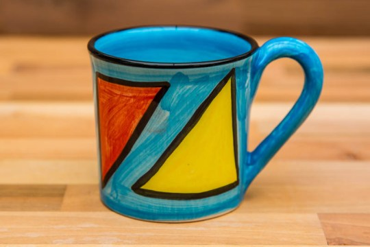 Carnival small parallel mug in Pale Blue