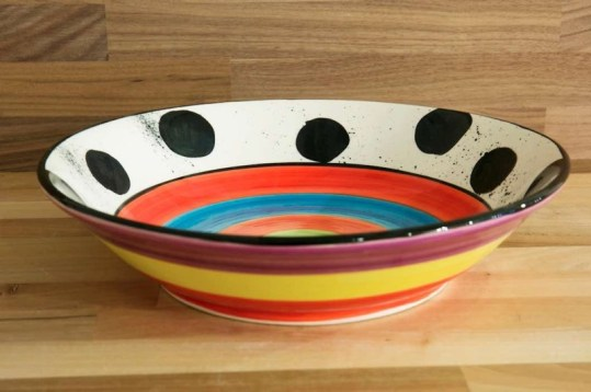 Hi-Life Gaudy fruit/salad bowl in spot