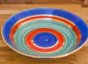 Lustre Horizontal pasta bowl in no.01
