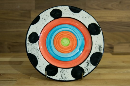 Hi-life gaudy 11″ dinner plate in spot