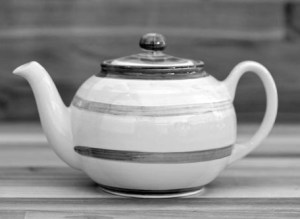 Splash mini teapot in Pale Blue