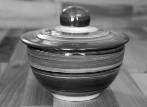 Reckless Rosie lidded bowl
