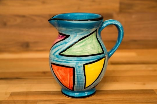 Carnival small jug in Pale Blue
