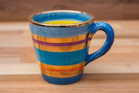 Lustre Horizontal small parallel mug in No.01