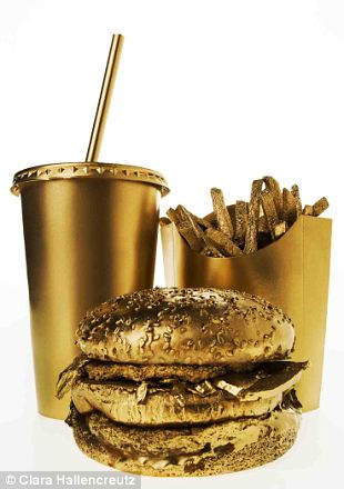 Chanel Gold Burger