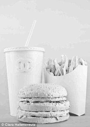 Chanel McDo White Burger