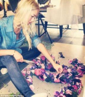 Clara Hallencreutz : behind the scenes