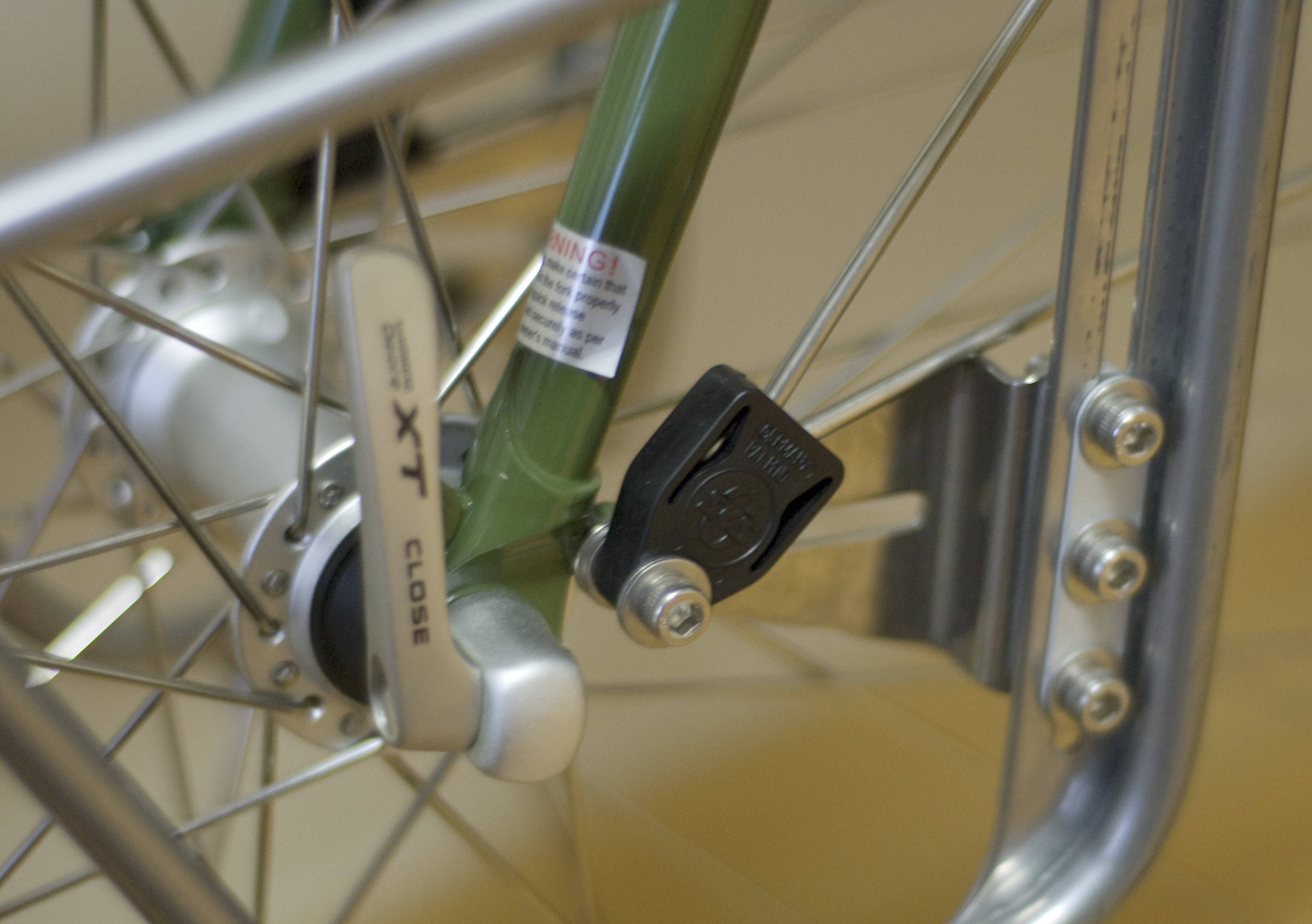 Front-fork Connection (with SKS Fender Mount)