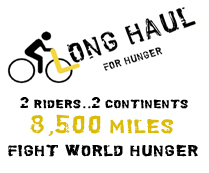 The Long Haul for Hunger Bicycle Tour