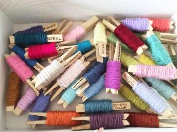 yarn pegs box