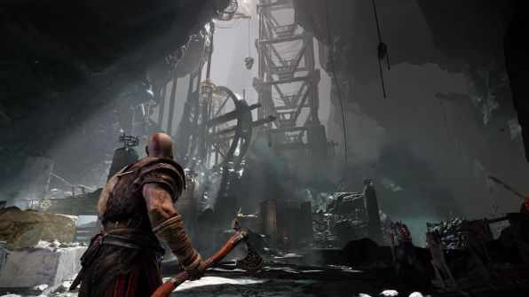 GoW is a little more Tomb Raider like this time around