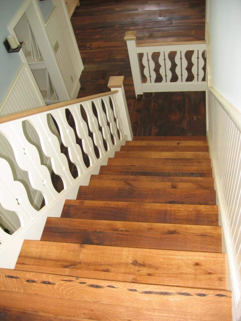 Relaimedbarns Com Stair Cases Treads And Trim   Wood Stair Treads For Sale   White Oak Stair Parts   Prefinished   Carpet Stair   Risers   Unfinished Pine