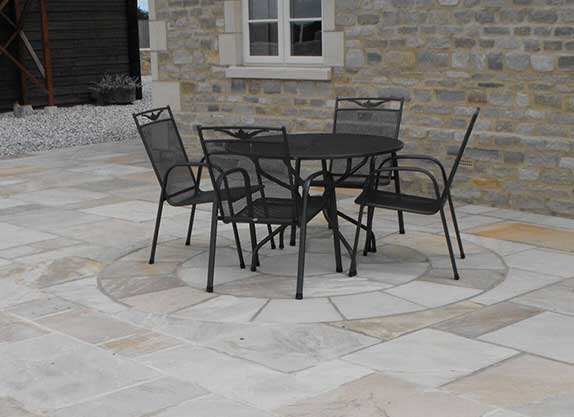 Cotswolds reclaimed yorkstone