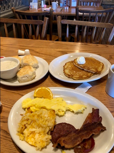 Cracker Barrel Meal